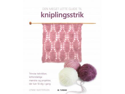 Image of   Den meget lette guide til kniplingsstrik - Bog af Lynne Watterson