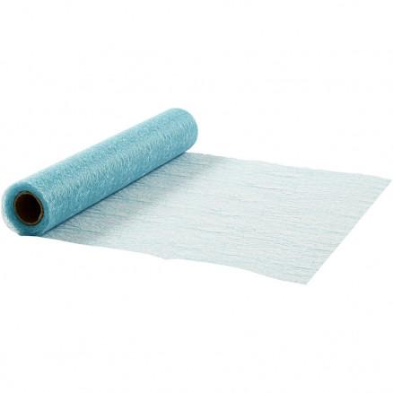 Bordløber, B: 30 cm, lyseblå, net, 10m thumbnail