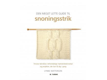 Image of   Den meget lette guide til snoningsstrik - Bog af Lynne Watterson