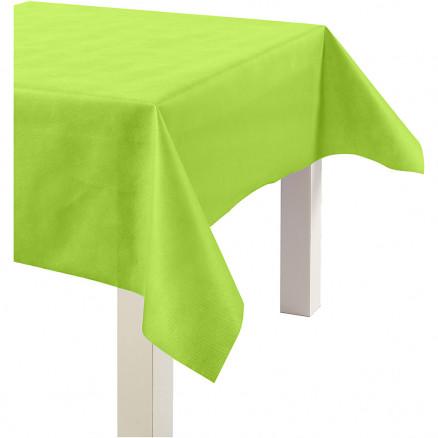 Dug af imiteret stof, B: 125 cm, 70 g/m2, lime grøn, 10m thumbnail
