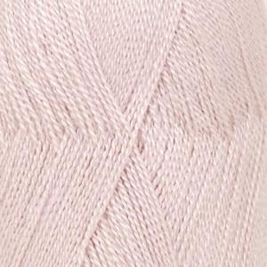 Drops lace garn unicolor 3112 støvet rosa 50g fra Garnstudio - drops på rito.dk