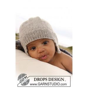 Samuel Hue by DROPS Design - Baby Hue Strikkeopskrift str. 1/3 mdr - 3/4 år