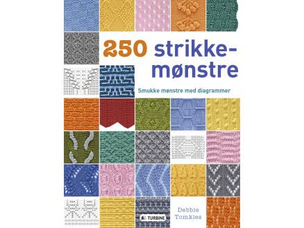 Image of   250 strikkemønstre - Bog af Debbie Tomkies