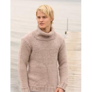 Jakob by DROPS Design - Sweater Strikkeopskrift str. S - XXXL