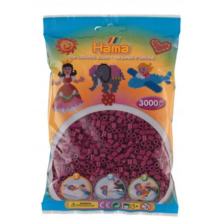 Hama Midi Perler 201-82 Blomme - 3000 stk thumbnail