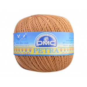 DMC Petra nr. 5 Hæklegarn Unicolor 5436 Karamel
