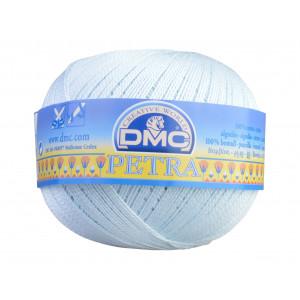 DMC Petra nr. 5 Hæklegarn Unicolor 54462 Isblå