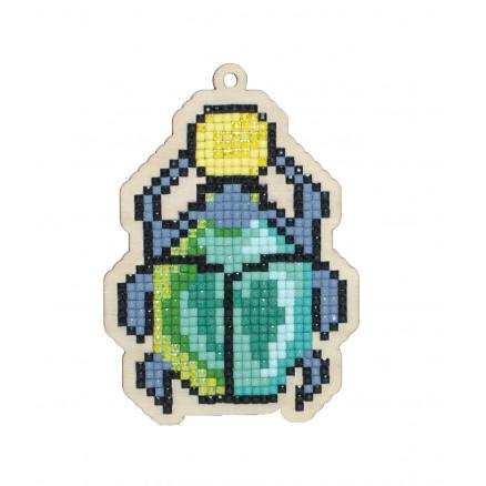 Wizardi Diamond Painting Pakke Scarabaeus 10,3x7,3cm thumbnail
