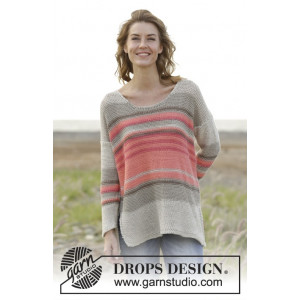 Laid Back Afternoon by DROPS Design - Bluse Strikkekit str. S - XXXL