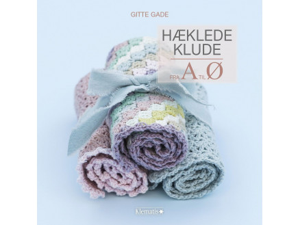 Image of   Hæklede klude fra A til Ø - Bog af Gitte Gade