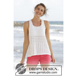Holiday Bliss by DROPS Design - Top Strikkeopskrift str. S - XXXL