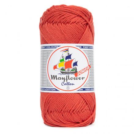 Mayflower Cotton 8/4 Junior Garn 104 Koral thumbnail