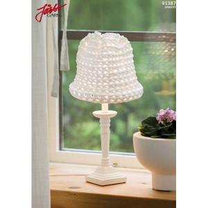 Hoooked lille skærm til bordlampe - Lampeskærm Hæklekit 52x25 cm