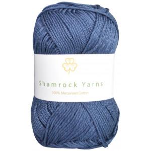 Shamrock Yarns 100% Mercerised Cotton 114 Marineblå
