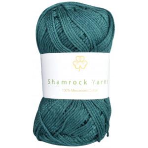 Shamrock Yarns 100% Mercerised Cotton 241 Petrol Grøn