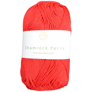 Shamrock Yarns 100% Mercerised Cotton 19 Rød