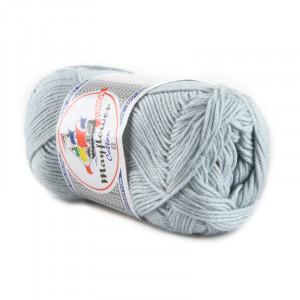 Mayflower Cotton 8/4 Junior Garn 1440 Lysegrå