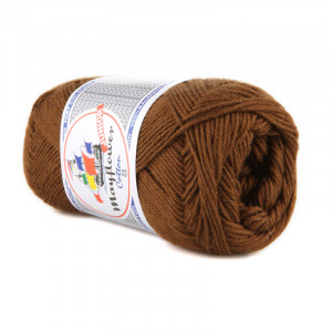 Mayflower Cotton 8/4 Junior Garn 1432 Brun