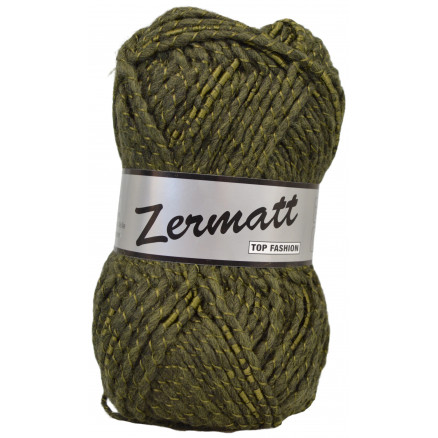 Lammy Zermatt Garn 72 Armygrøn thumbnail