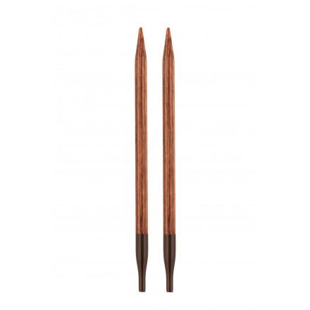 KnitPro Ginger Udskiftelige Rundpinde Birk 13cm 6,00mm thumbnail