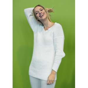 Mayflower Sweater i Rib - Bluse Strikkeopskrift str. S - XXXL