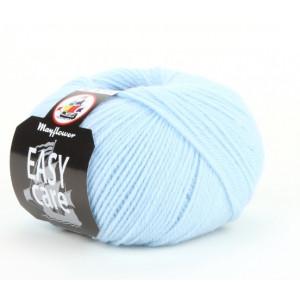 Mayflower Easy Care Garn Unicolor 02 Isblå