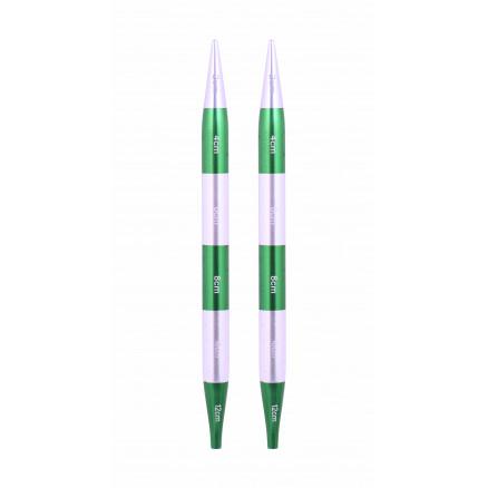 KnitPro SmartStix Udskiftelige Rundpinde Aluminium 12cm 8,00mm thumbnail