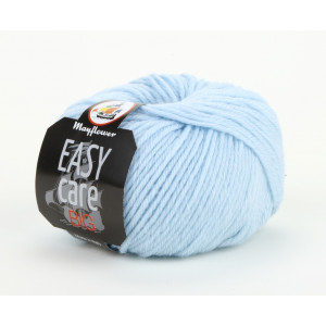 Mayflower Easy Care Big Garn Unicolor 102 Isblå