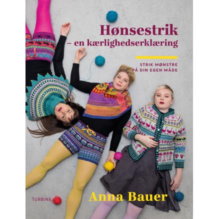 Hønsestrik - Bog af Anna Bauer thumbnail