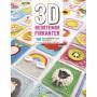 3D bedstemor-firkanter - Bog af Catie Moore, Sharna Moore, Celine Semaan
