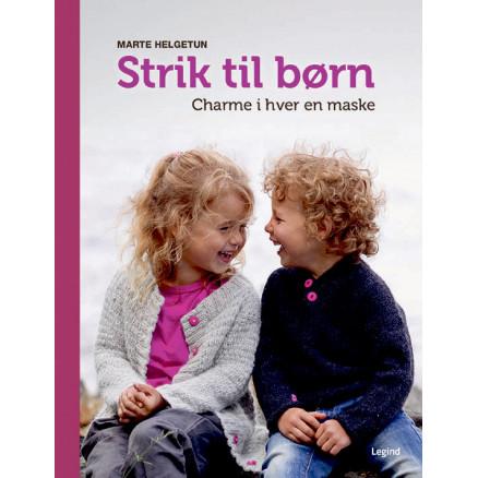 Strik til børn - Bog af Marte Helgetun thumbnail