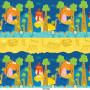 Dino-Mates Bomuldsstof 112cm 865 - 50 cm