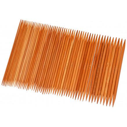 Infinity Hearts Bambus Strømpepindesæt 13 Cm 2-5 Mm 11 Størrelser