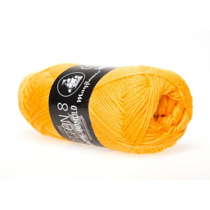 Mayflower Cotton 8/4 Garn Unicolor 1498 Solgul