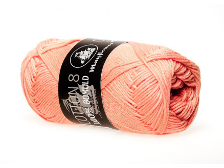 Image of   Mayflower Cotton 8/4 Garn Unicolor 1497 Støvet Orange