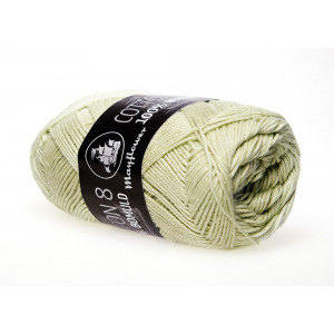 Mayflower Cotton 8/4 Garn Unicolor 1496 Støvet Lime