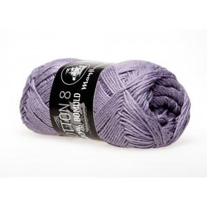 Image of   Mayflower Cotton 8/4 Garn Unicolor 1493 Støvet Lilla