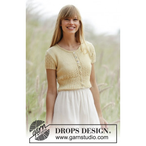 Spring Fling by DROPS Design - Bolero Strikkeopskrift str. S - XXXL