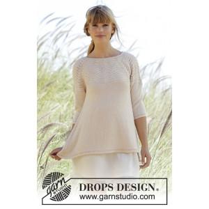 Dune by DROPS Design - Bluse Strikkeopskrift str. S - XXXL