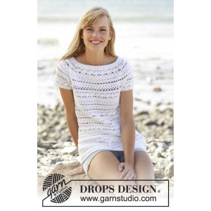 Seashore Bliss Top by DROPS Design - Top Hæklekit str. S-XXXL