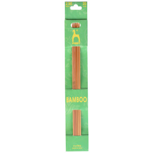 Pony Strømpepinde Bambus 20cm 2,50mm / 7.9in US 1½