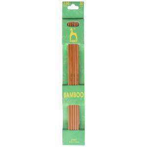 Pony Strømpepinde Bambus 20cm 3,50mm / 7.9in US 4