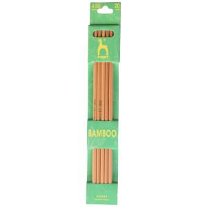 Pony Strømpepinde Bambus 20cm 4,50mm / 7.9in US 7