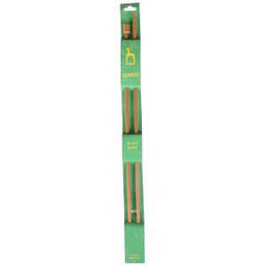 Pony Strikkepinde / Jumperpinde Bambus 33cm 5,00mm / 13in US 8