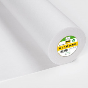 Vlieseline Indlægsstof til Mundbind ILC 151 90cm Hvid - 50cm