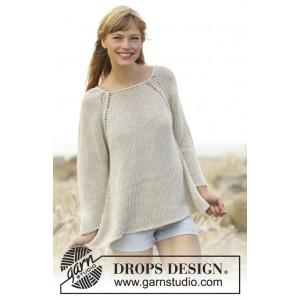 Everyday Comfort by DROPS Design - Bluse Strikkeopskrift str. S - XXXL