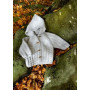 Mayflower Baby/Børnejakke med hætte - Hættetrøje Strikkeopskrift str. 0/1 mdr - 4 år