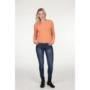 Mayflower Sweater med bobler - Bluse Strikkekit str. S - XXXL