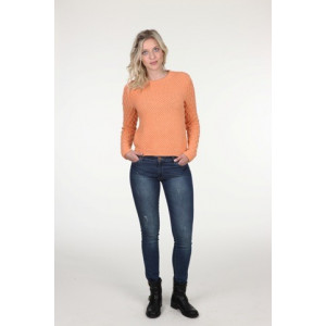 Mayflower Sweater med bobler - Bluse Strikkeopskrift str. S - XXXL