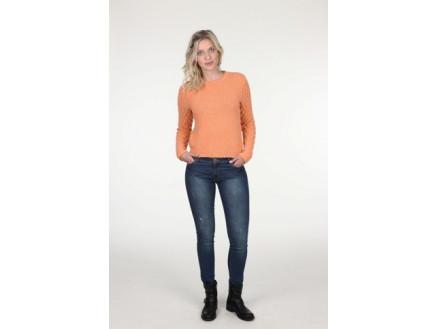 Mayflower Sweater med bobler - Bluse Strikkeopskrift str. S - XXXL